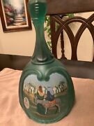 Fenton 1998 Christmas Bell L.e.- Birth Of A Savior The Arrival. 1st Edition