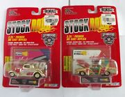 Racing Champions Gold Stock Rods 2 Cars 99 Exide 5 Kelloggs 3.25 Premier New