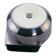 Markdown Marine Boat Stainless Steel Compact Electric Horn 12v Diam 3 Depth 2