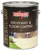 Richardand039s Paint 4500 Series Deck Guard 100 Acrylic Driveway And Floor Coating