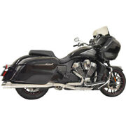 Bassani Chrome Performance True Dual Exhaust Pipes System Indian Challenger 2020