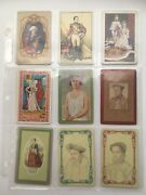 18 Vintage Monarchs Lot Single Swap Playing Trading Cards Collect 1940's 1950's