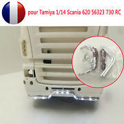 Front Bumper Lumiandegravere Lampe Pour Tamiya 1/14 Scania 620 56323 730 Rc Tractor Diy