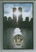 The World Trade Center New York City Nyc Twin Towers 9/11 Memorial Coin Gift Set