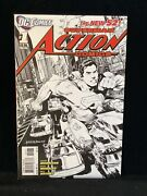 Action Comics 1 1200 Sketch Variant Rags Morales New 52