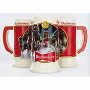 Budweiser 2020 Clydesdale Holiday Stein - Brewery Lights 41st Edition Ceramic