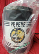 New Mezco One12 Exclusive Mdx Popeye The Sailor Man Action Figure White Tin Can