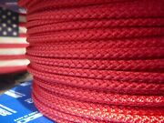 Samson Xls3 Polyester Sailboat Rigging Rope Halyard Sheet Line 3/16 X 100and039 Red