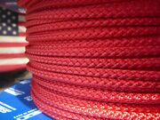 Samson Xls3 Polyester Sailboat Rigging Rope Halyard Sheet Line 3/16 X 50and039 Red