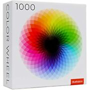 Colorful Geometric Rainbow Jigsaw Puzzles 1000 Piece Large Round Art For Andamp