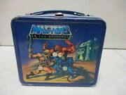 1983 Aladdin He-man Masters Of The Universe Lunchbox With Thermos