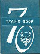 1970 Hume-fogg Technical And Vocational High School Yearbook Nashville Tn