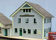 Wharf Dairy Creamery O On30 Model Railroad Unpainted Structure Laser Kit Df424