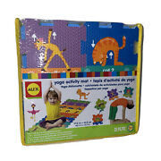 Alex Brands 2 In 1 Use 46.2 X 17.7 25 Pc Yoga Activity Mat And Obstacle Course
