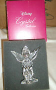 Disney Tinkerbell Peter Pan Crystal Figurine Limited Edition Rare