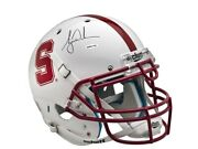 Tiger Woods Signed Autographed Stanford Authentic Football Helmet White Uda