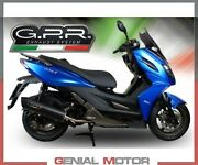 Complete Exhaust Gpr Furore Nero Approved Kymco X-town 125 2016 2020