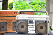 Sharp Mixing Radio-cassette The Searcher Gf-505st Stereo