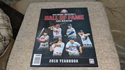 2018 Baseball Hall Of Fame Yearbook Guerrero Thome Home Morris Trammell Hoffman