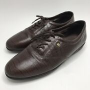 Easy Spirit Anti-gravity Jpmotion Brown Leather Loafer Lace Up Shoes 10 D/b