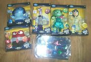 Lot Of 6 Disney Deluxe Talking Doll Pixar Inside Out New Film Dolls Andcake Topper