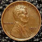 1913-p Lincoln Cent Xf / Ef Condition 20 Orders Ship Free