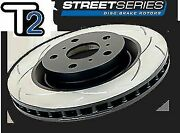 Dba 2x Pairs T2 Slotted F+r Rotors Fit Holden Commodore Vt-vz Dba040s/dba041s