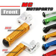 360 Adjustable Riser Front Foot Pegs For Ducati Monster 1100 /s/evo 08-13