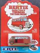 Thomas The Tank Engine Bertie The Bus 1026f1 Ertl 1984 New On Sealed Card