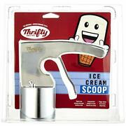 Old Time Ice Cream Scoop Scooper Stainless Steel Rite-aid