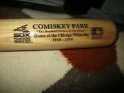 1990 New Old Stock 34 Chicago White Sox Comiskey Park 1910-1990 Rawlings Bat