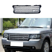 Front Bumper Lower Grill Grille Mesh Silver Black For Range Rover L405 2005-2012