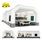 26x15x10ft Inflatable Paint Booth Portable Auto Spray Booth With Filter System