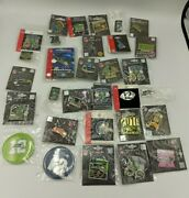 Massive Lot Of 52 Seattle Seahawks Collectible Pins And Buttons Rare Nip Old/new