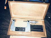 Brown And Sharpe 210-13 , 50- 75mm, Thread Micrometer