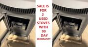 12327 Castle Serenity 2 Wood Pellet Stoves Read The Ad Used Model Cabin Garage