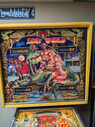 1978 Bally Lost World Four Player Pinball - It's More Fun To Compete