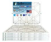 Glasfloss 22x28x1 - Merv 10 - Qty 6 - Pleated Furnace Air Filter Made In Usa