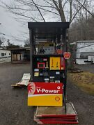 Gas Pump Dispenser Gilbarco Encore 500 Shell Brand Working Collectable Used