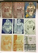 Jake Reed 1996 Collectorand039s Edge Advantage 8 Printing Plate Complete Set 1/1