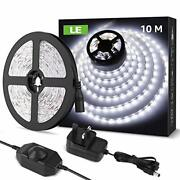 10m D Strip Lights Daylight White 6000k Dimmab And Fxib Plug And