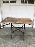 Antique Keuffel And Esser Drafting Architect Mechanical Drawing Table