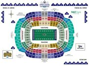 2 Baltimore Ravens Psl Season Ticket Rights - Section 111 Row 29