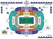 2 Baltimore Ravens Psl Season Ticket Rights - Section 145 Row 29