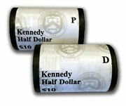 2004 Kennedy Half Dollar P And D Mint Set 10 Coin Rolls Ogp Sealed 5a2 Box Bl232