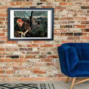 Paul Gauguin - Christ And The Garden Of Olives Wall Art Poster Print