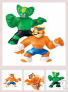 Heroes Of Goo Jit Zu Super Stretchy 2-pack Action Figures, Tygor Vs Viper