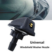 Universal Car Vehicle Front Windshield Washer Sprayer Nozzle Black Car Accessor