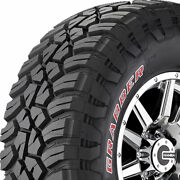 4-new 35x12.50r20lt General Grabber X3 121q 35 12.5 20 Mud Terrain Tires