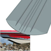 8and039 Marine Boat Megaware Keelguard Keel Protector For Boats Up To 22 Feet - Gray